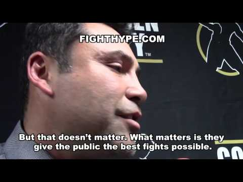 OSCAR DE LA HOYA ON MAYWEATHER VS. PACQUIAO: