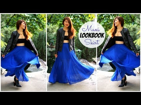 3 Ways to Style a Maxi Skirt