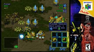 (N64) Starcraft 64 Protoss Campaign mission 3 HDRetrovision