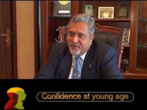 Vijay Mallya-UB Group-Confidence At Young Age