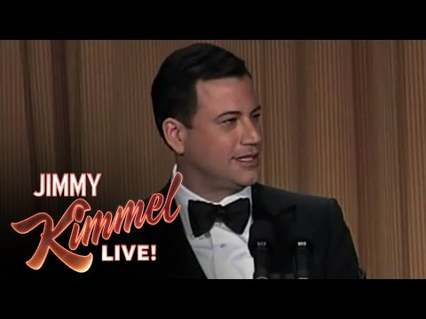 Jimmy Kimmel Hosts the 2012 White House Correspondents  Dinner
