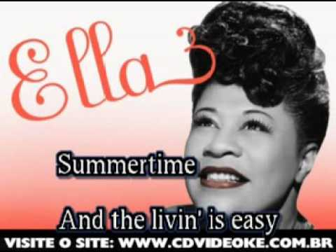 Ella Fitzgerald   Summertime
