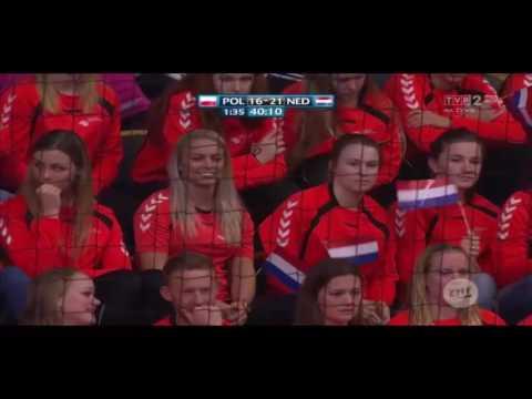 Piłka Ręczna Mistrzostwa Europy W Szwecji-Meczu Fazy Grupowej Polska Vs Holandia 21:30 Druga Połowa