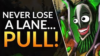 How to WIN EVERY LANE - PULLING Support Guide | Dota 2 Gameplay Guide