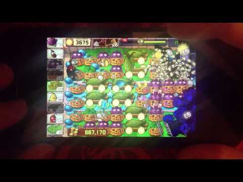 Plants vs Zombies - Last Stand Endless - 200 flags (iPhone)