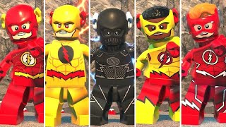 All Speedsters in LEGO DC Super-Villains
