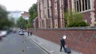 Google earth street view strange sighting