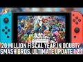 Super Smash Bros Ultimate Update 1 2 1 Is LIVE Nintendo Backpedals On Switch 20 Million Goal mp3