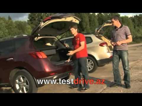Nissan Murano и Subaru Tribeca - Тест-драйв