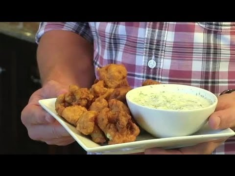 Fried Cauliflower Recipe : Southern Cooking