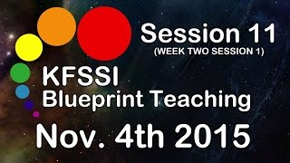 KFSSI Blueprint Teaching HD #Session 11