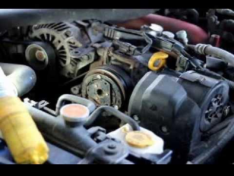 Ac Compressor Clutch >> DIY Repair AC compressor clutch on Subaru Impreza and Forester 08-10 - YouTube