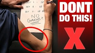"""3 Sets of 12"" is KILLING Your Gains!!"