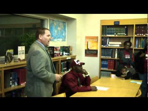 2012 USC RB Kendric Salley Williston-Elko High Orangeburg, SC signs with South Carolina Gamecocks