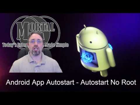 Auto Start No Root v2. 2