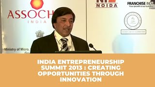 India Entrepreneurship Summit 2013