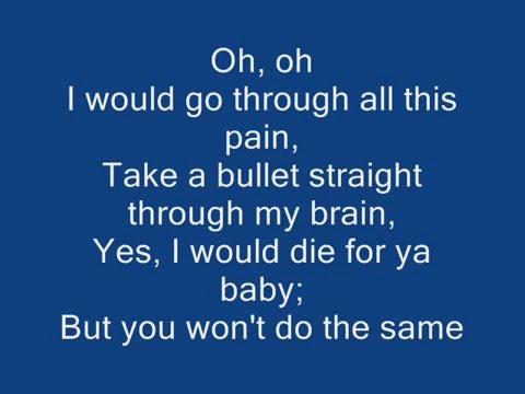 Bruno mars - Grenade Lyrics