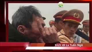 CSGT Thanh Hoá đánh bẫy tài xế, cả xe khách xuống phản đối