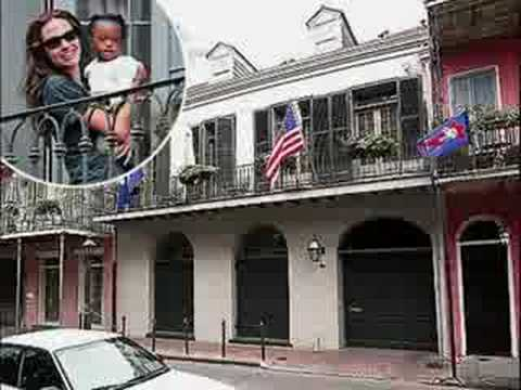 Brad Pitt New Orleans Homes Location