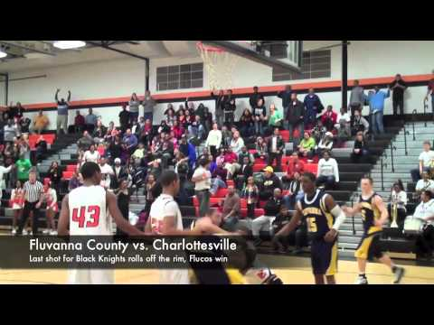 Boys Basketball:  Fluvanna vs. Charlottesville