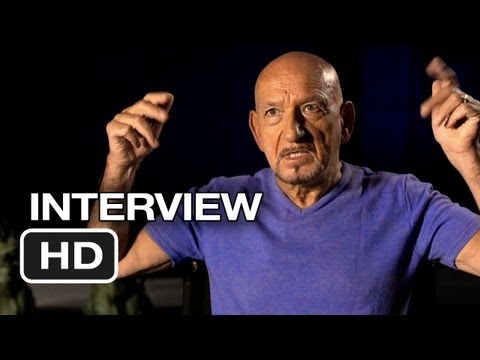 Iron Man 3 Interview - Ben Kingsley (2013) - Robert Downey Jr. Movie HD