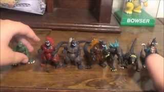 Godzilla Mini Figures Pack of 8 Unboxing