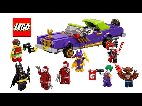 LEGO Batman Movie 2017 Batmobile and Lowrider sets - My Thoughts!