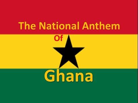 The National Anthem of Ghana with Lyrics
