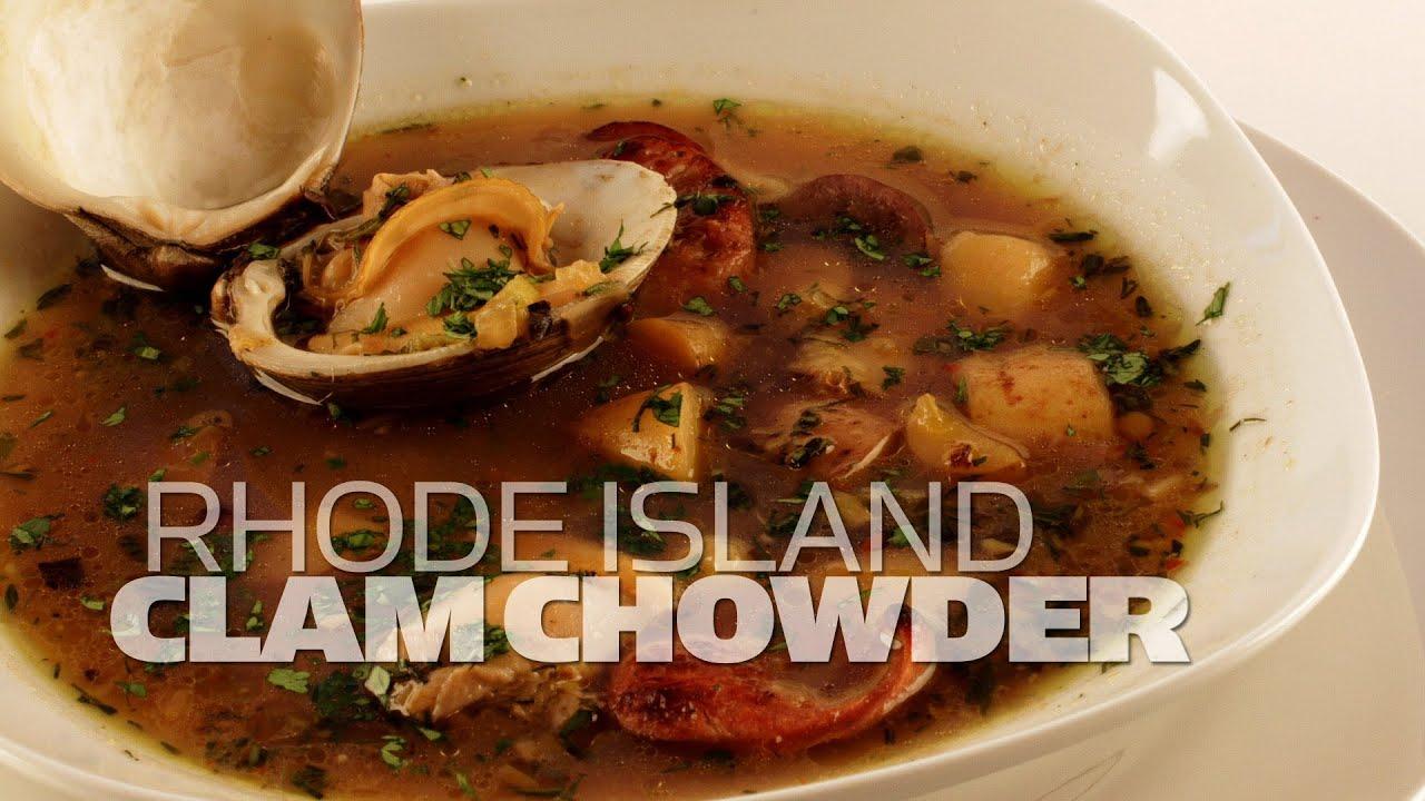 Rhode Island Quahog Chowder The Rhode Island Clam Chowder