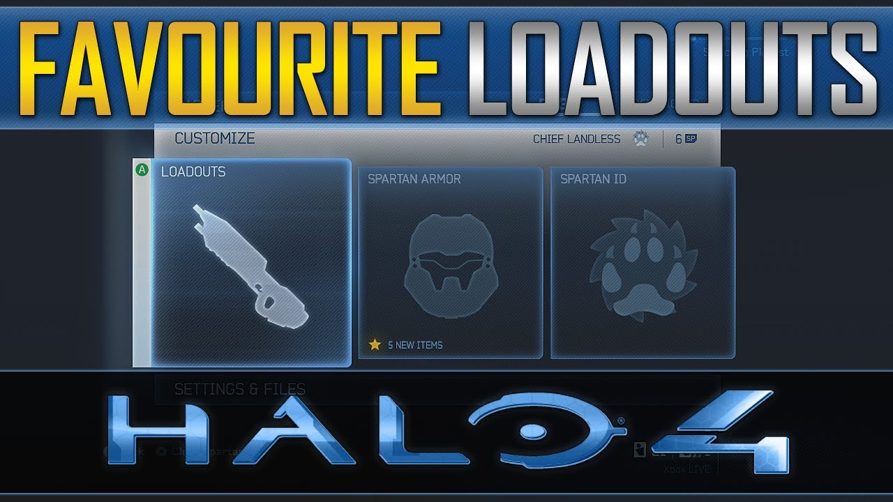 Custom Loadouts Halo 4 Halo 4 my Favourite Custom