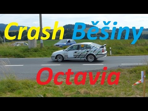 Octavia Rally Crash Běšiny 2016 :) BEZ KOMPRESE (: