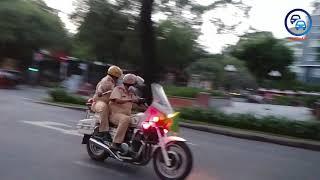 Xem cách CSGT dẫn đoàn xử lý khi bỏ đoàn Vũ Nhôm quá xa - How police react in this situation
