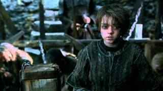 Arya Stark and Tywin Lannister First Meet - Game of Thrones 2x04 (HD)