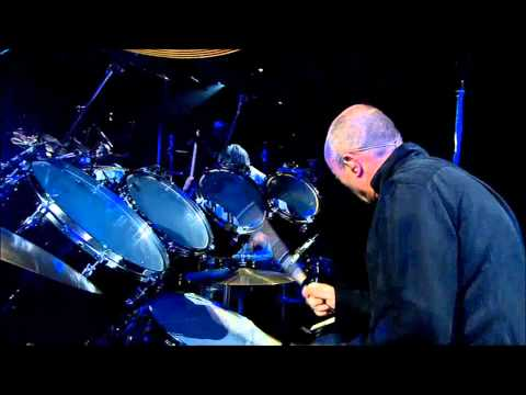 Phil Collins, Solo batterie live  Bercy. HD