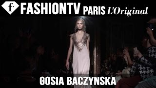 Gosia Baczynska Spring/Summer 2015 Runway Show   Paris Fashion Week PFW   FashionTV