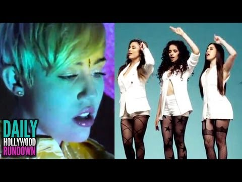 Miley Cyrus High In New SuperFreak Video? - Fifth Harmony's SEXY New Bo$$ Video (DHR)