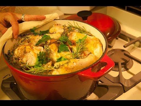 طريقة جديدة لعمل الدجاج | الفراخ بالزعتر والثوم | وصفات من مطبخ شيف أحمد thumbnail