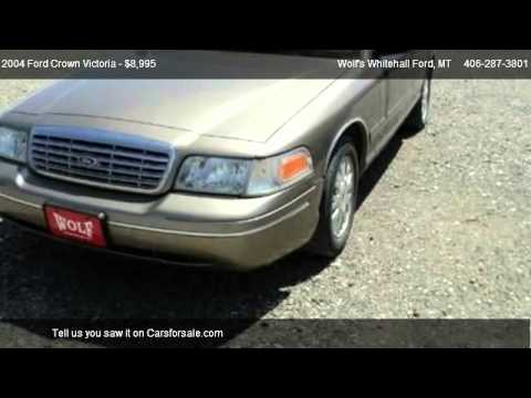 2004 Ford Crown Victoria LX - for sale in Whitehall, MT 59759