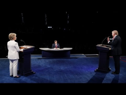 REPLAY - Watch the 3rd US presidential debate between Trump and Clinton