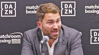 Eddie Hearn ANNOUNCES NEW FIGHTS!