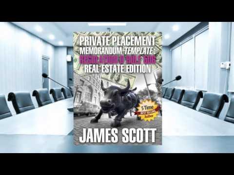 Real Estate Private Placement Memorandum Template