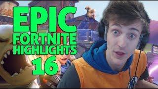 Ninja - Fortnite Battle Royale Highlights #16