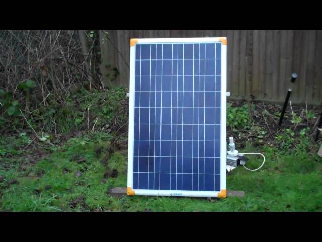 100 WATT SOLAR PANELS PART 1