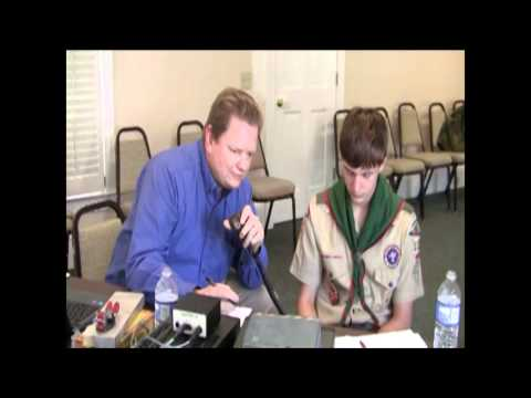 Boy Scouts Ham Radio Day 02