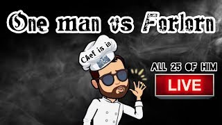 BOOM BEACH -THE CHEF IS IN - ONE MAN VS FORLORN HOPE LIVE - ALL 25 OF HIM