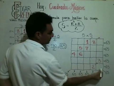 CUADRADOS MAGICOS