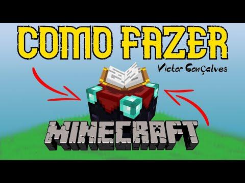 Como fazer mesa de encantamento Minecraft (todas Versoes)