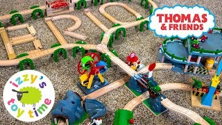 THOMAS AND FRIENDS BRIO ONLY TRACK! Thomas Train with Brio and Imaginarium   Toy Trains for Kids