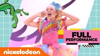 JoJo Siwa Gets SLIMED While Performing Her Top Hits 😜 | Kids' Choice Awards 2018 | Nick