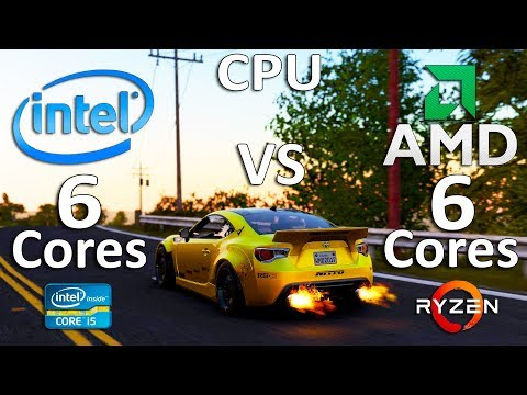 Intel 6 Cores vs AMD 6 Cores Test in 8 Games